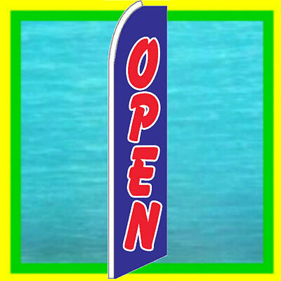 HAPPY HOUR Restaurant Swooper Banner Feather Flutter Bow Tall Curved Top Flag