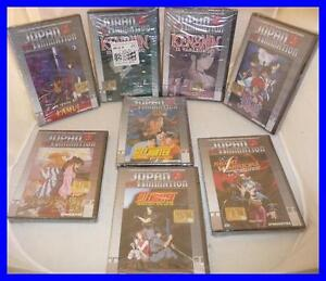 DVD Nuovo ORIGINALE JAPAN ANIMATION Kenshin Vagabondo CAPITOLO DEL TEMPO Parte 1