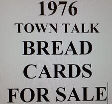 1976 TOWN TALK BREAD SINGLES FOR SALE  - $2.99 EACH YOU PICK!!   RARE!!!