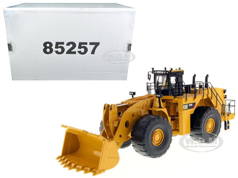 Cat Caterpillar 993K Cargador de rueda 1 50 Diecast Modelo por Diecast Masters 85257