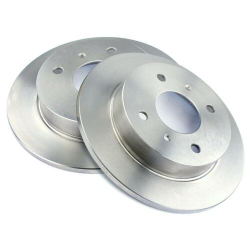 Discos de freno trasera 258mm plenamente Nissan Almera II n16 primera p10 p11 wp11