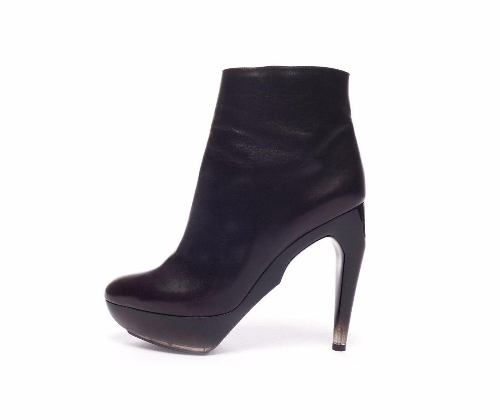 JIL SANDER Raf Simons Boots Scarpe Stivali SZ 41 Amazin heel VERY COMFY! AW 2009