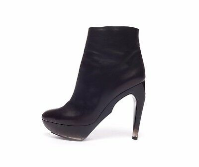Women's Shoes Well-Educated Jil Sander Raf Simons Boots Schuhe Stiefel Sz 41 Amazin Heel Very Comfy Aw 2009 By Scientific Process
