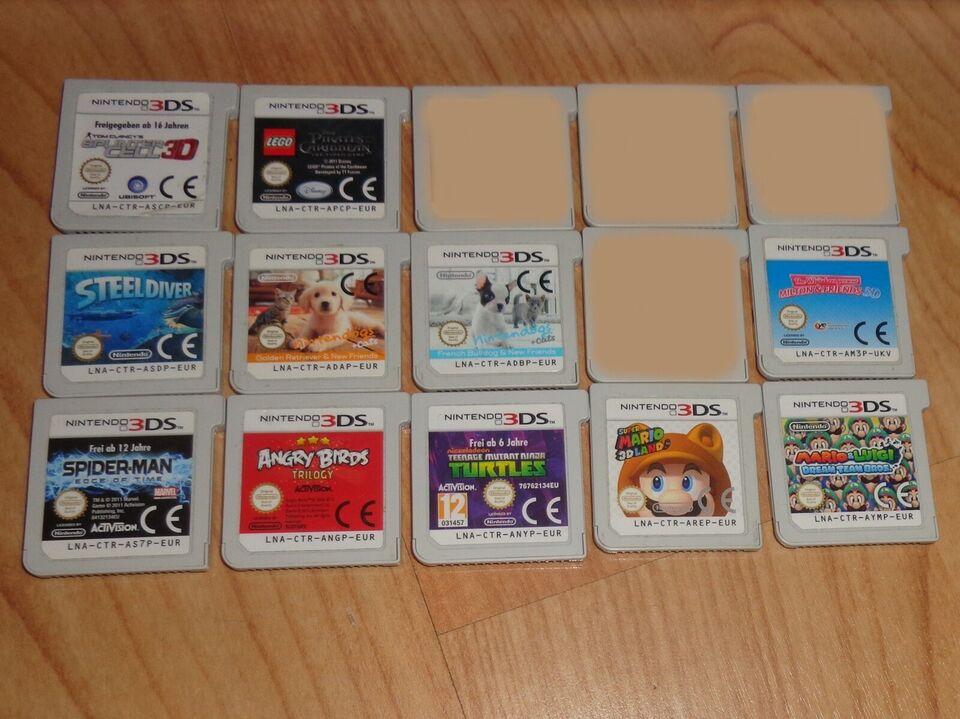 3ds spil, Nintendo 3DS