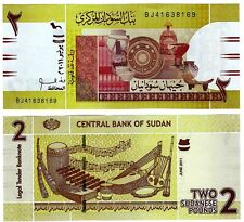 2011 Africa Paper Money Two Pounds Uncirculated Note