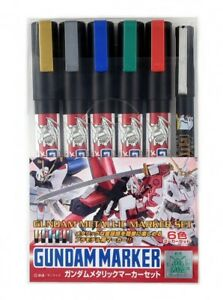 GSI-Creos-Mr-Hobby-GMS121-Gundam-Metallic-Marker-Set