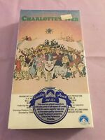 Charlotte's Web Vhs, New. Original Paramount Release. Very Rare