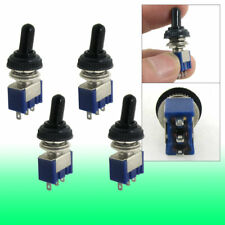 4 Pcs 125v 6a Onon 2 Position 3 Pin Spdt Toggle Switch Waterproof Cover Cap