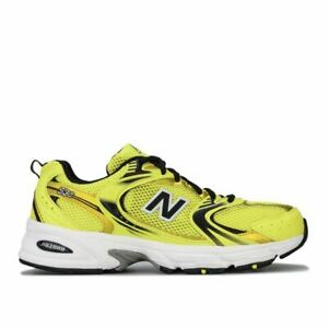 Men's New Balance 530 Breathable Cushioned Trainers in Yellow