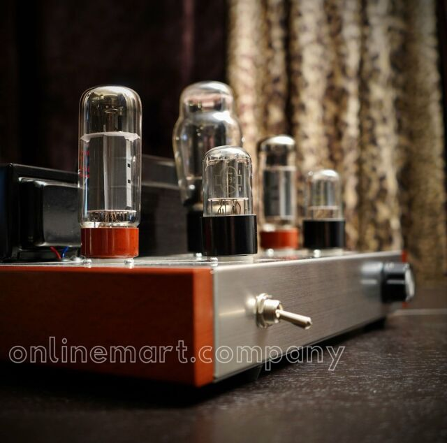 PrivateLABEL EL34 POINT TO POINT Class A Vacuum Tube Integrated Amplifier US