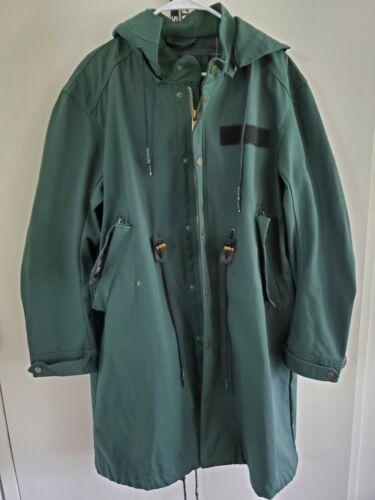NWT Zara Man Textured Weave Military Parka Coat Ra