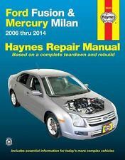 Haynes Repair Manual: Ford Fusion and Mercury Milan : 2006 Thru 2014 by Haynes Manuals Inc. Editors (2014, Paperback)