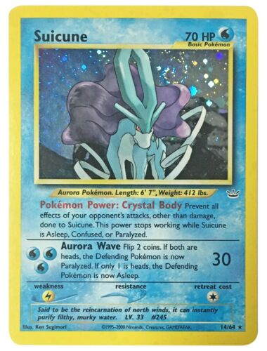 Pokemon Cards Neo Revelation Holo Celebi Entei Ho-oh Raikou Suicune Blissey