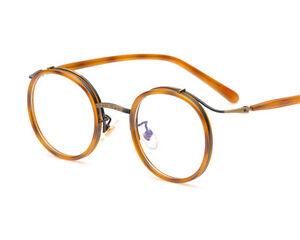 b61e369ee1a Vintage Eyeglass Frame Full-Rim Retro Men Women optical Glasses ...