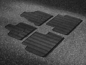 Details About 2013 2016 Chrysler Town Country Oem 1st 2nd Row Only Rubber Floor Mats