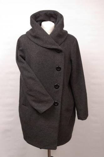Uld P1424 Fit Cashmere 58 Grey Uk 12 Sofia Cashmere Loose Regular Coat wIA4RqgKIp