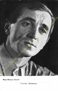 RPPC-Photo-STAR-Charles-Aznavour-Photo-Hermann-Edit-P-I-1146