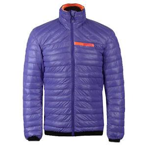 Purple adidas Terrex Downblaze Climaheat Mens Jacket