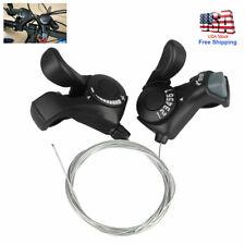SL-TX50 3x7 21-Speed MTB Bike Bicycle Thumb Index Shifter w// Cable Black