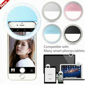 Selfie-Portable-LED-Ring-Light-Flash-For-iPhone-Samsung-LG-Phone-Laptop-Light