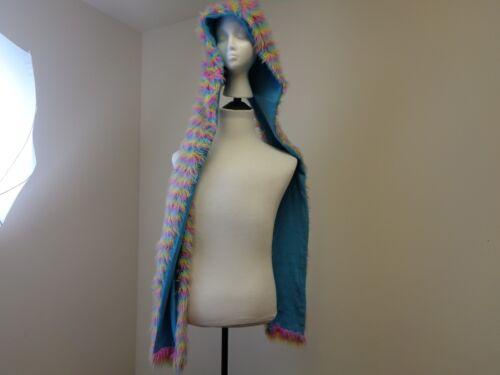 Vintage Rainbow Hat Scarf Wrap