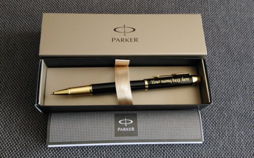 Personalised Engraved PARKER IM Pen Rollerball Pen Fountain Pens Set GREAT GIFT