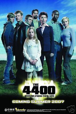The 4400 Season 2 Trading Card Binder & Sell Sheet | eBay