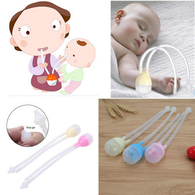UNTERING Baby Nose Cleaner Snot Nasal Suction Device Newborn Aspirator Safe Nursing Care Soft Silicone Vacuum Safety Sucker Newborn Cleaning Tool