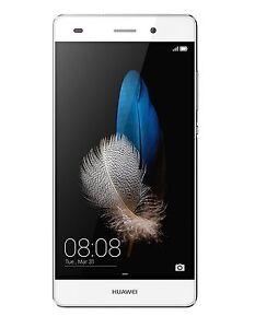 """Huawei P8 Lite Smartphone,5"""" Octa-Core,16GB 4G LTE ITALIA NO BRAND WHITE NUOVO!"""