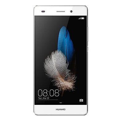 """Huawei P8 Lite Smartphone,5""""  Octa-Core 16GB 4G LTE ITALIA NO BRAND WHITE NUOVO!"""