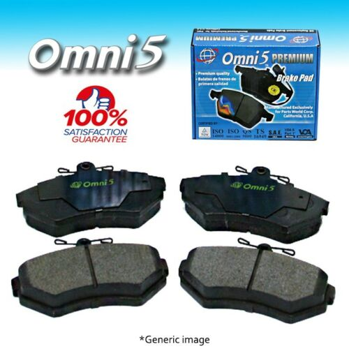 BS Omni 5 Semi Metalic Brake Pad PDM262 Rear ISO Certified !!