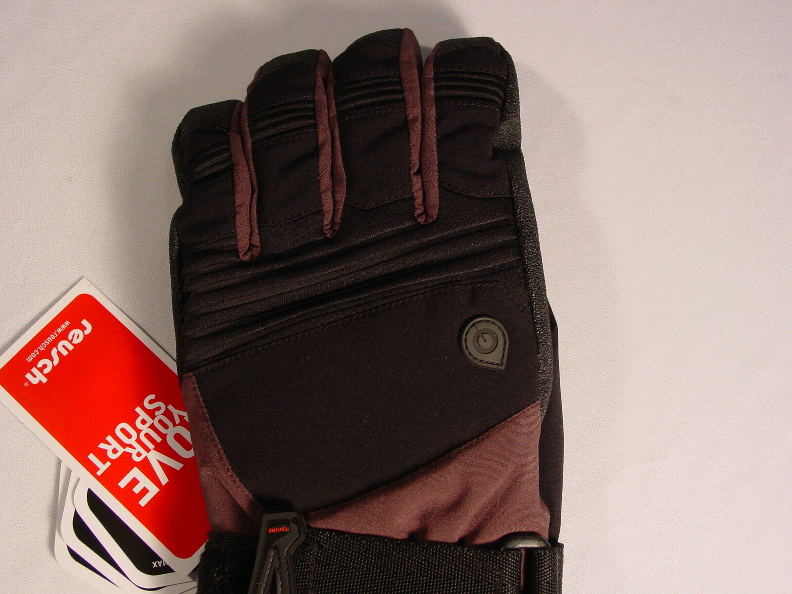 Reusch Wrist Brace Protection Board Softshell Gloves Med 8.5 8.5 8.5 Vert Rtex 2904203 083c58