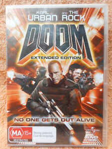 Details about DOOM (EXTENDED EDITION)KARL URBAN THE ROCK DVD MA R4