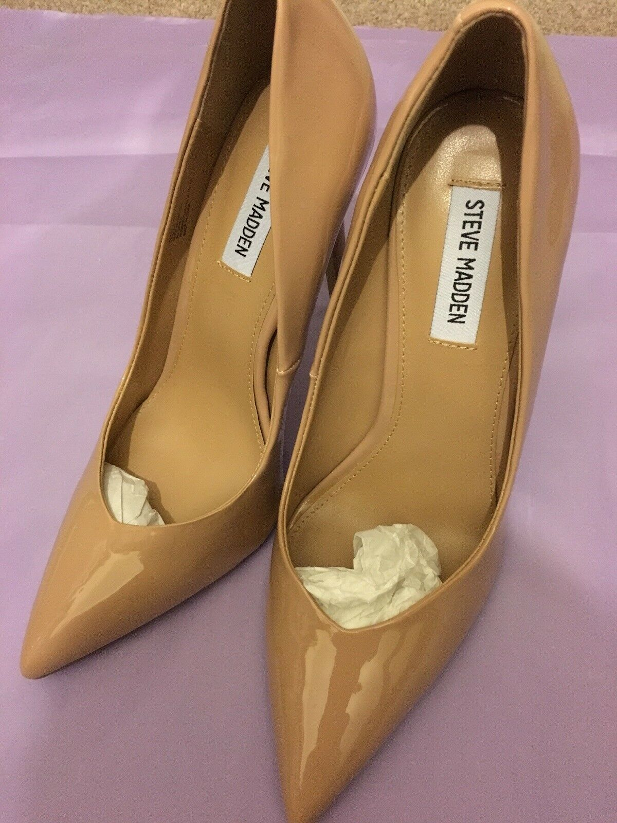 2c20298bd2a Steve Madden Nude Daisie Pointed Court Shoe UK 7 EU 40.5