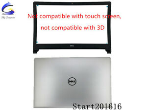 New-For-Dell-Inspiron-15-5000-5555-5558-5559-LCD-Back-Cover-amp-Front-Bezel-07NNP1