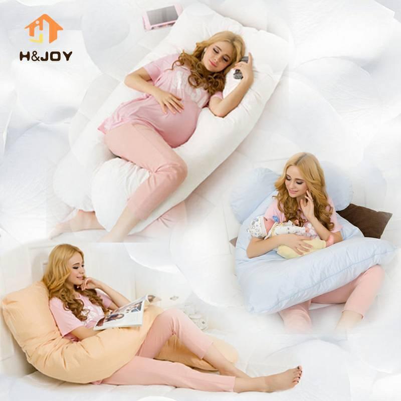 U Oversized Shape Pillow Nursing Pregnancy Maternity Boyfriend Full Support Body