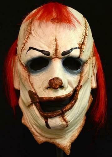 The Clown Skinner Costume Mask Adult One Size