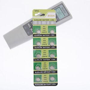 10Pcs-Simple-d-039-utilisation-de-batteries-1-55V-LR927-Alcalin-pile-bouton-Piles-sh