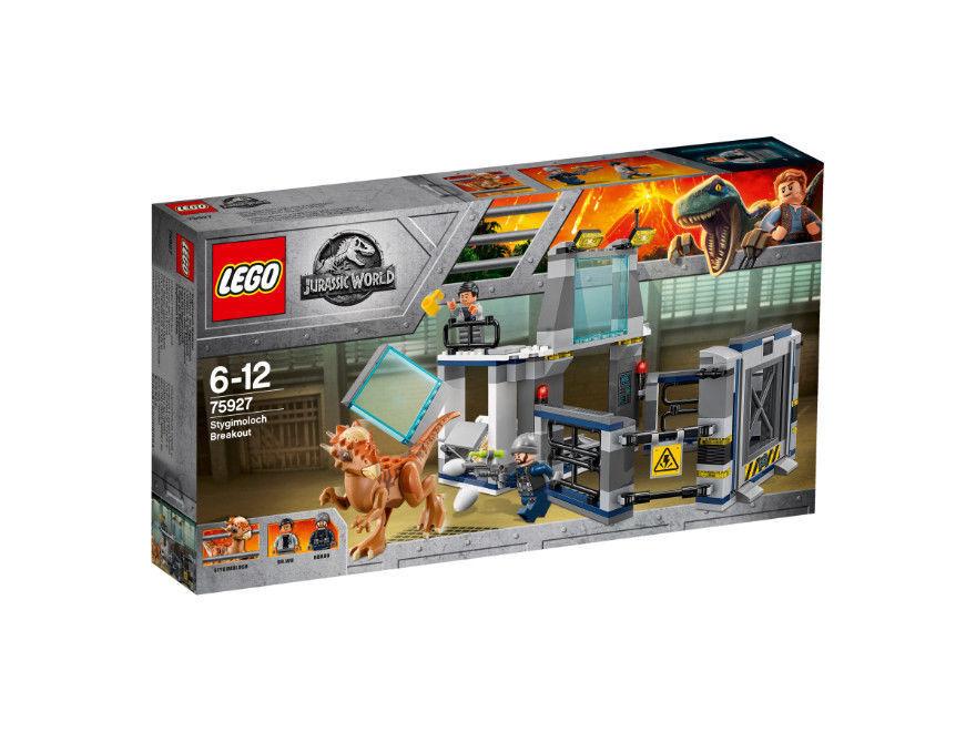 Lego Jurassic World-éruption du Stygimoloch - 75927