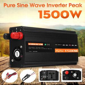 1500W-LCD-Car-Power-Inverter-DC-12V-24V-48V-to-AC-220V-Pure-Sine-Wave-Converter