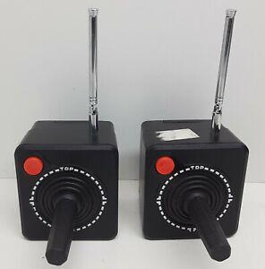 2x Wireless Joysticks GameMate II [1982] Nice. Untested NO RECEIVER.