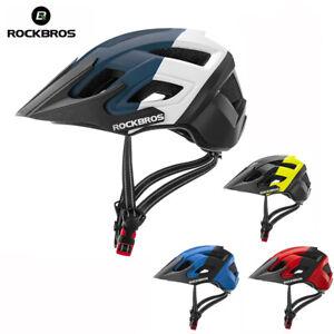 ROCKBROS Bicycle Helmet Breathable Shockproof MTB Road Bike Safety Aero Helmet