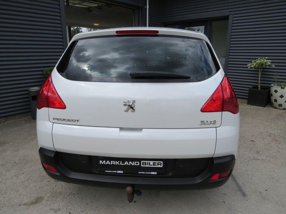 Peugeot 3008 1,6 HDi 112 Premium+ Diesel modelår 2011 km