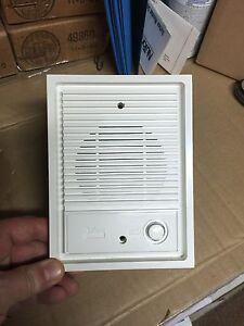 New Nutone Is 67wh White Intercom Door Speaker Lighted