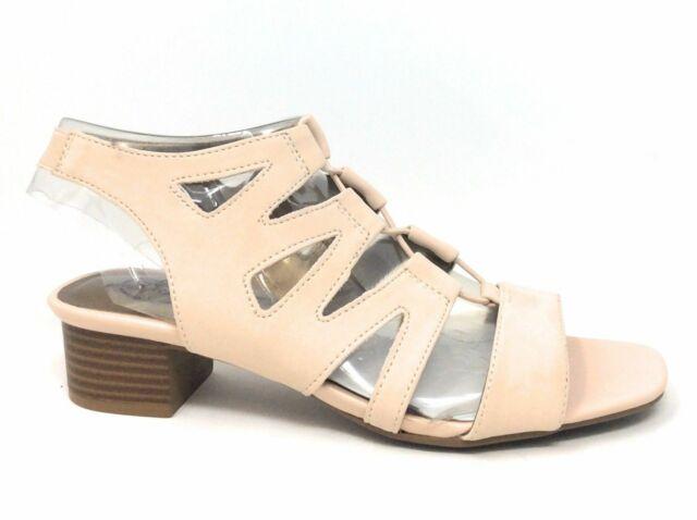 LifeStride Womens Meaning Gladiator Sandal Blush Size 7.5 M US