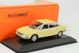 1972-Audi-NSU-Ro-80-gelb-1-43-Minichamps-Maxichamps