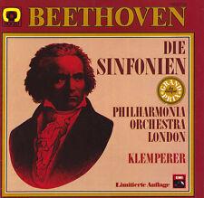 BEETHOVEN 9 Symphonies KLEMPERER London PO EMI C197-50187 8LP Box LOW SHIPPING