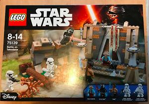 LEGO-SET-BOITE-NEUF-STAR-WARS-VAISSEAU-75139-BATTLE-ON-TAKODANA-KYLO-REN-ET-MAZ