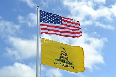 LOT 2' X 3' U.S.  AMERICAN & US  GADSDEN DONT TREAD ON ME TEA PARTY  FLAG 2X3
