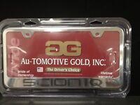 Chrome Scion Iq Engraved License Plate Frame -